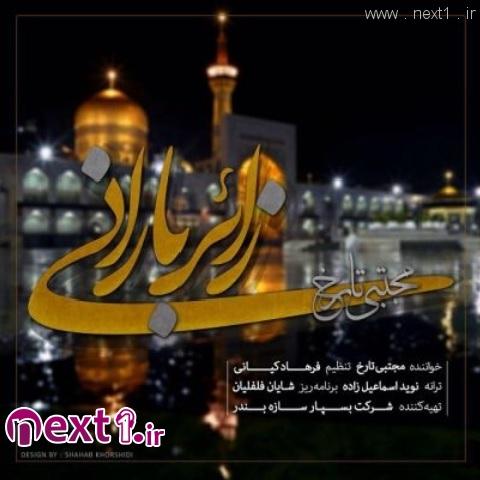 مجتبی تارخ - زائر بارونی امام رضا