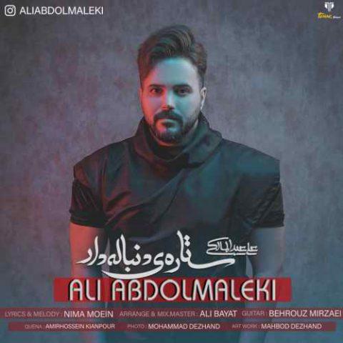علی عبدالمالکی - ستاره ی دنباله دار